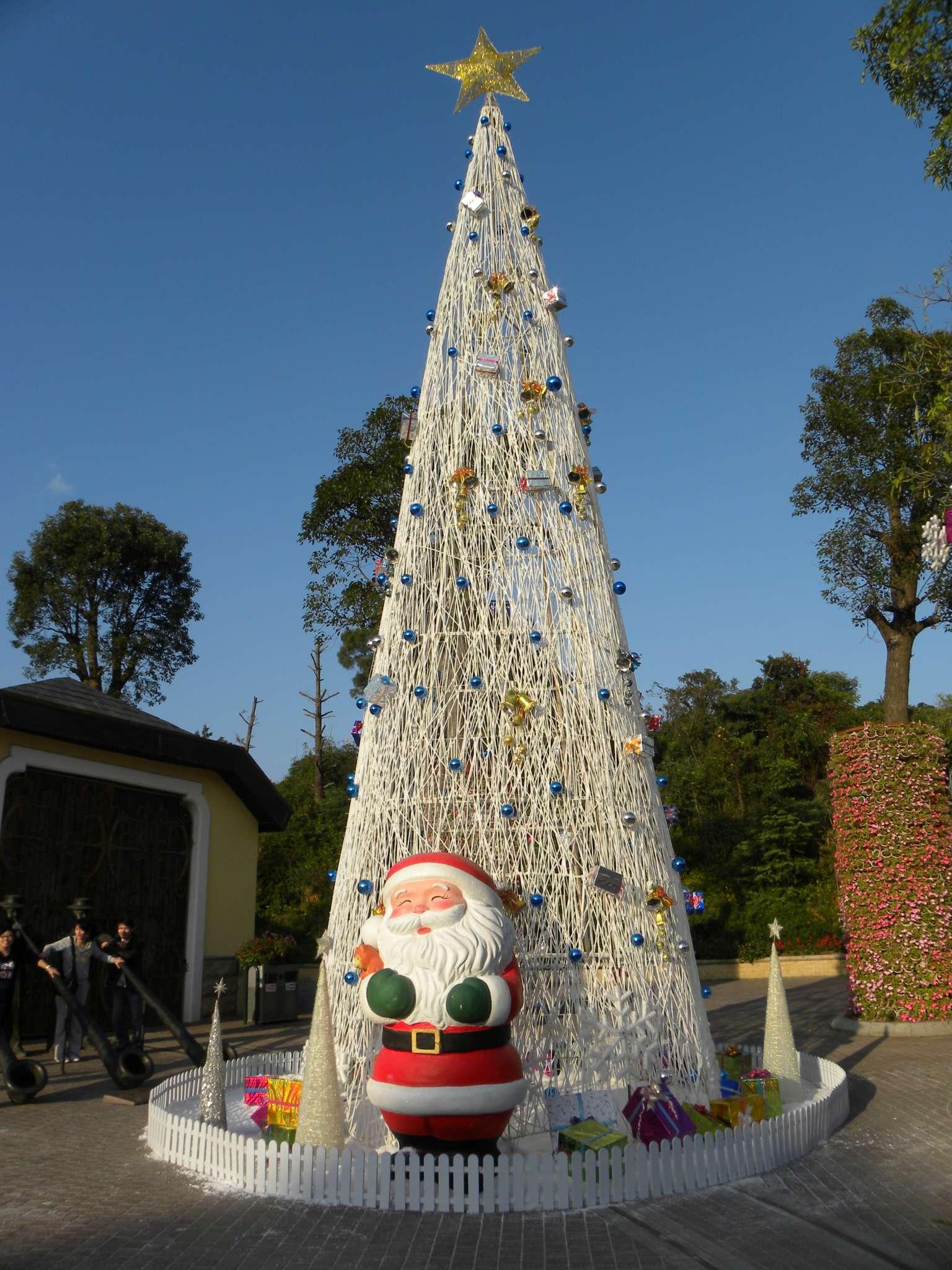 大型圣诞树,定制各种类型的圣诞树